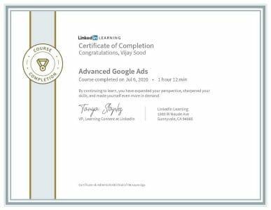 Advanced Google Ads