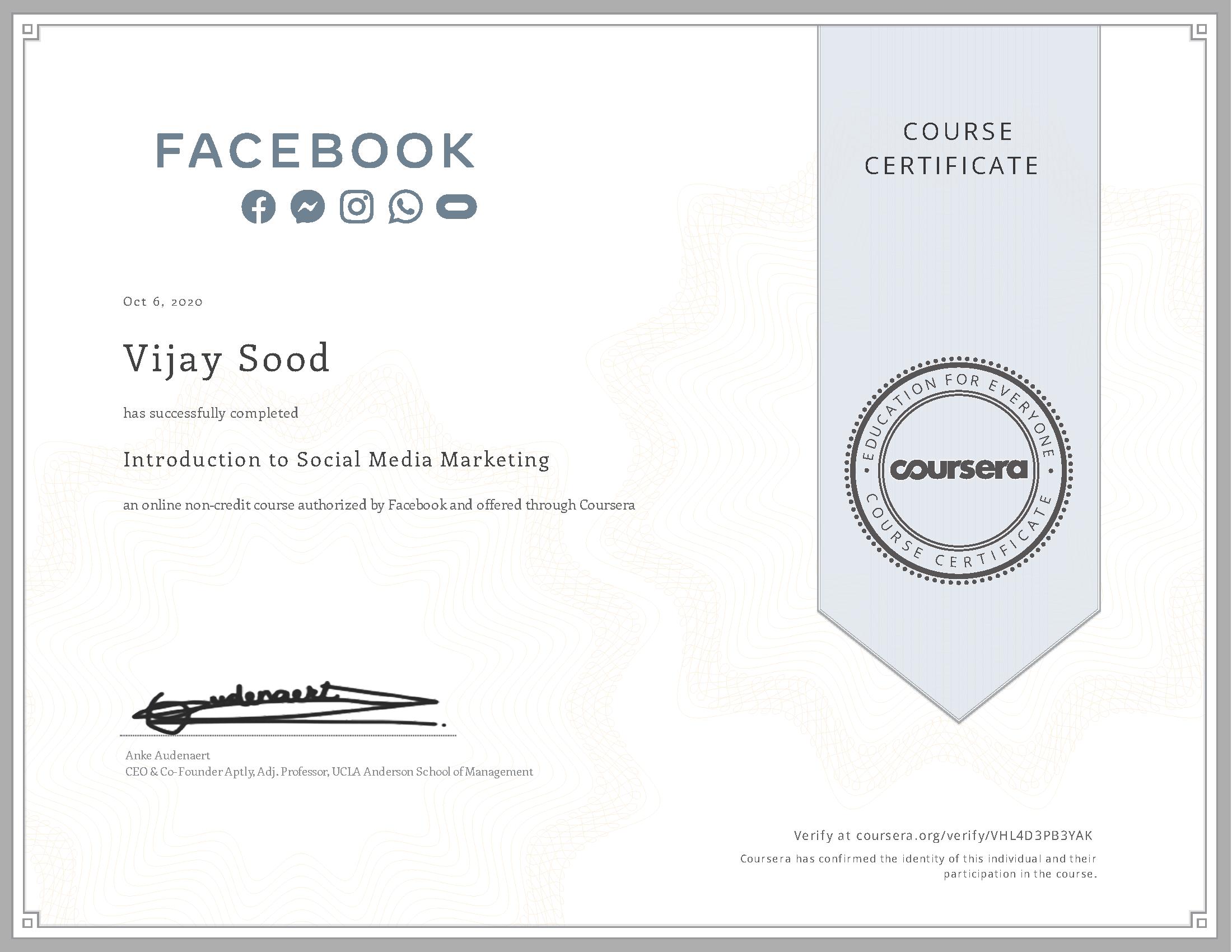 Social Media Marketing by FaceBook